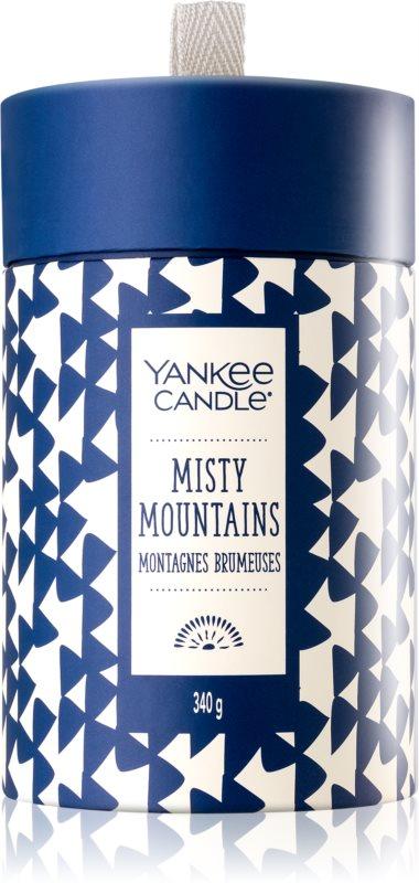 Yankee Candle Misty Mountains bougie parfumée 340 g boîte cadeau