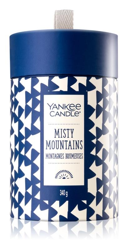 Yankee Candle Misty Mountains illatos gyertya  340 g ajándékdoboz