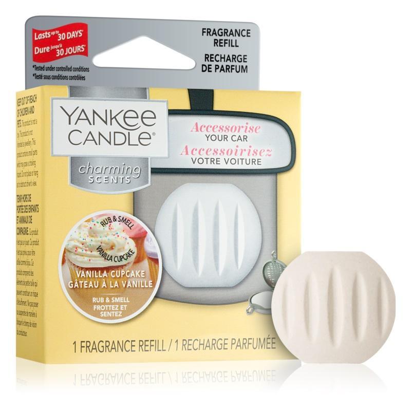 Yankee Candle Vanilla Cupcake parfum pentru masina   Refil