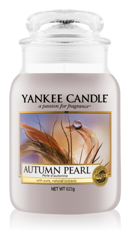 Yankee Candle Autumn Pearl Geurkaars 623 gr Classic Large