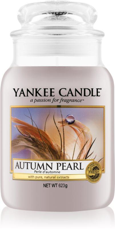 Yankee Candle Autumn Pearl vonná svíčka 623 g Classic velká