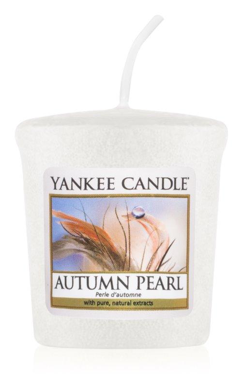 Yankee Candle Autumn Pearl Votivkerze 49 g
