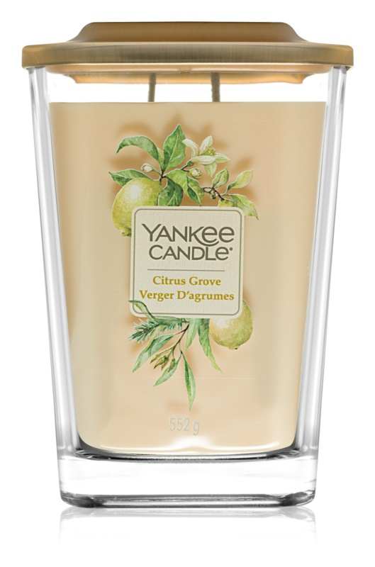 Yankee Candle Elevation Citrus Grove Geurkaars 552 gr Groot