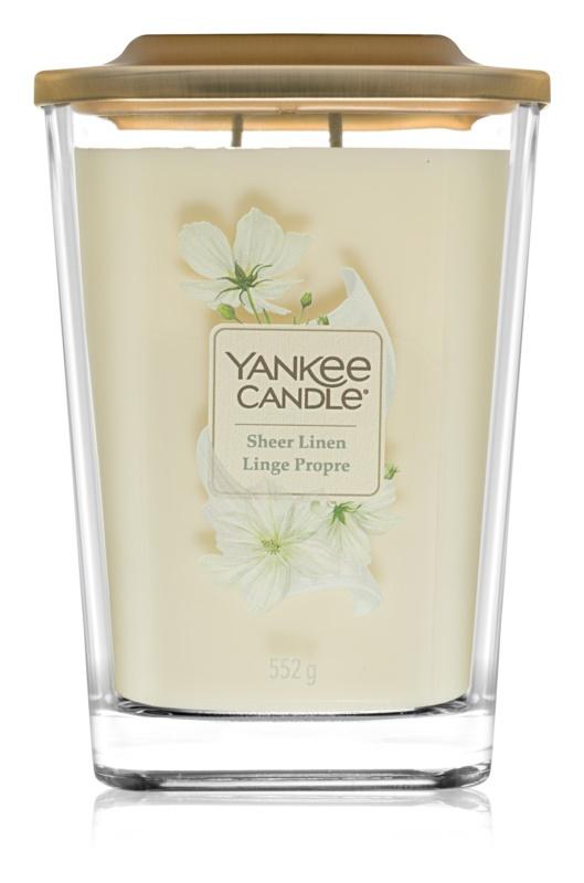 Yankee Candle Elevation Sheer Linen Duftkerze  552 g große