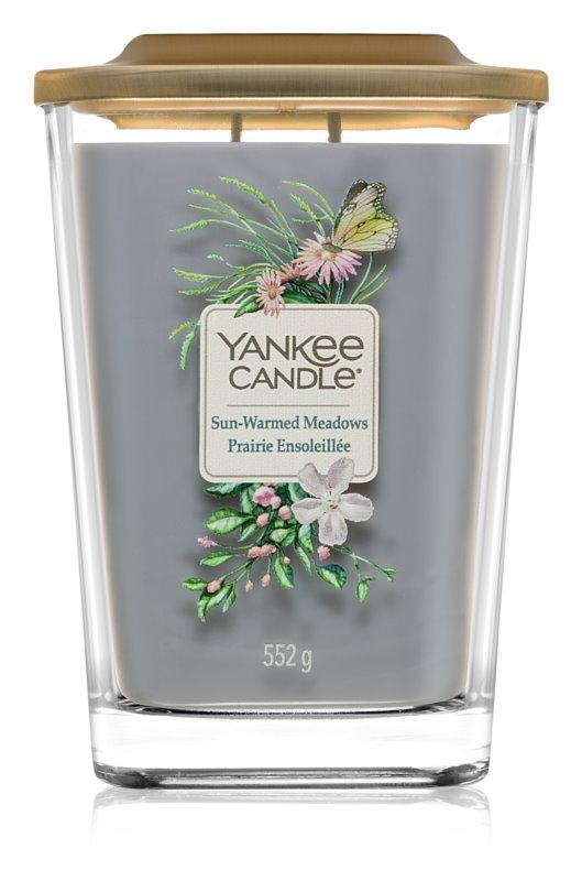 Yankee Candle Elevation Sun-Warmed Meadows vela perfumada  552 g grande