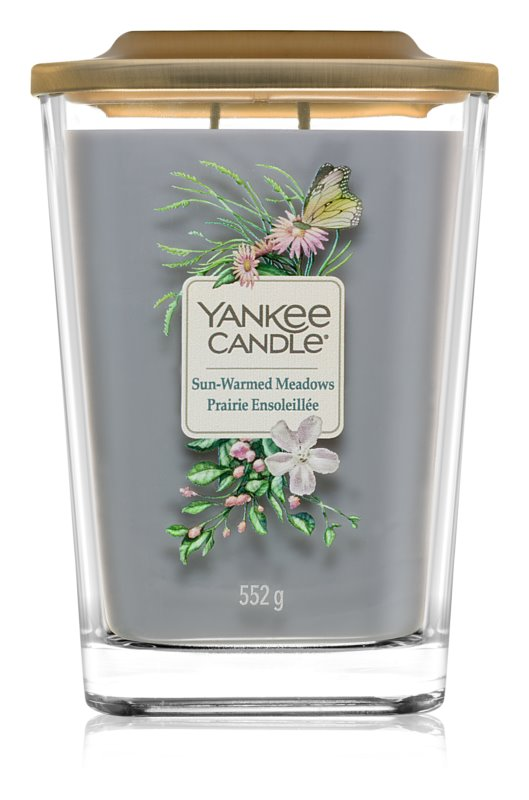 Yankee Candle Elevation Sun-Warmed Meadows vela perfumado 552 g grande