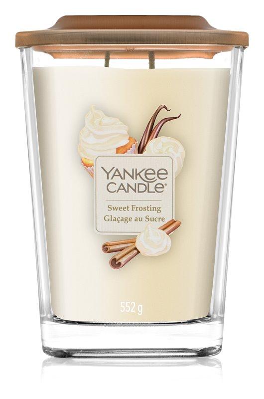 Yankee Candle Elevation Sweet Frosting lumânare parfumată  552 g mare