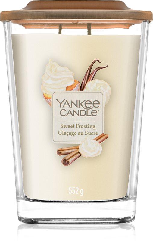 Yankee Candle Elevation Sweet Frosting świeczka zapachowa  552 g duża