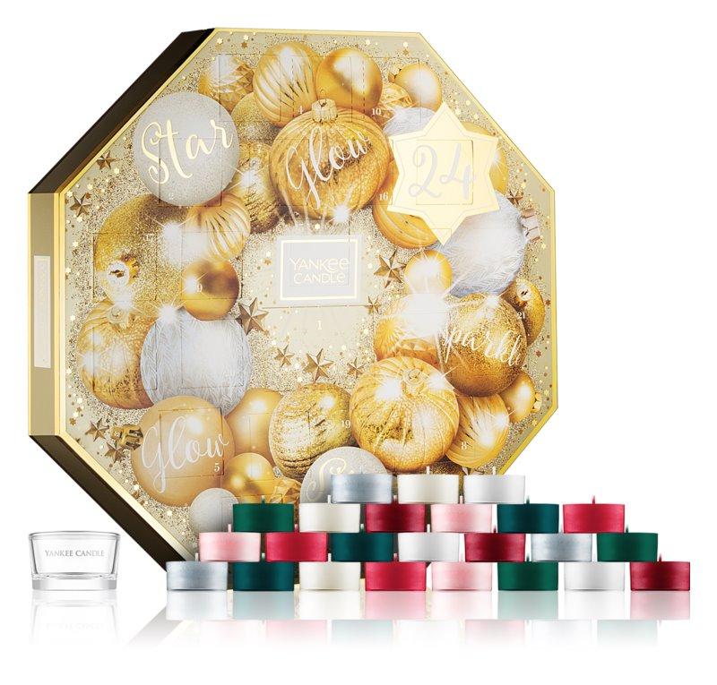 Yankee Candle Holiday Sparkle coffret adventní kalendář I.