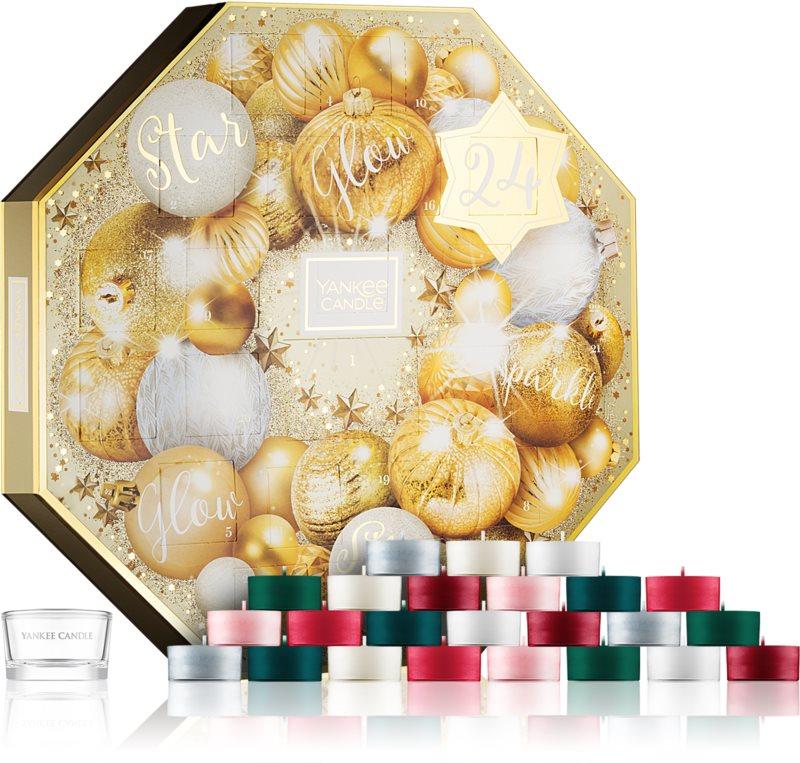 Yankee Candle Holiday Sparkle set cadou adventní kalendář I.