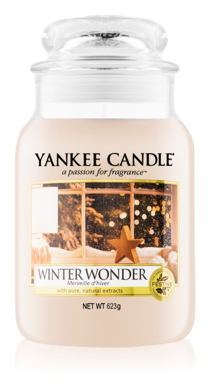Yankee Candle Winter Wonder vela perfumado 623 g Classic grande
