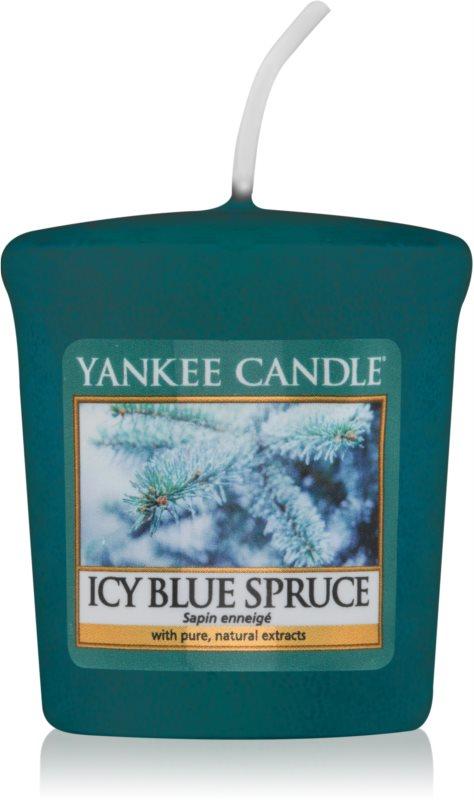 Yankee Candle Icy Blue Spruce lumânare votiv 49 g