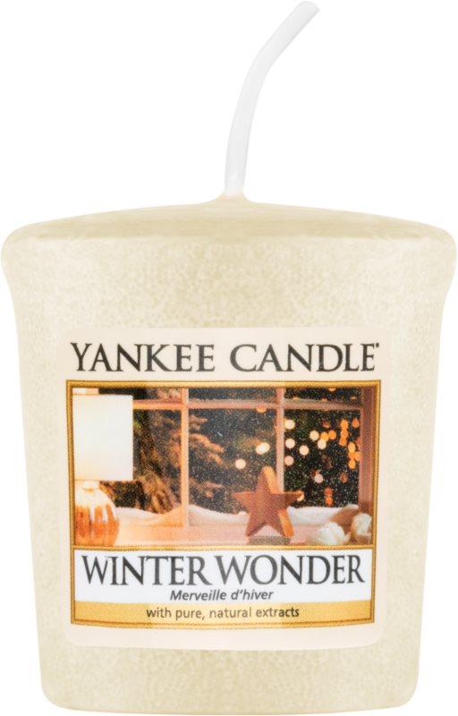 Yankee Candle Winter Wonder votivna sveča 49 g