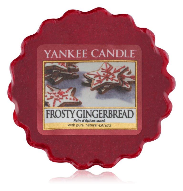Yankee Candle Frosty Gingerbread восък за арома-лампа  22 гр.
