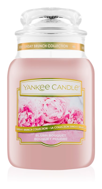 Yankee Candle Blush Bouquet ароматна свещ  623 гр. Classic голяма