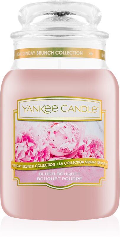 Yankee Candle Blush Bouquet illatos gyertya  623 g Classic nagy méret