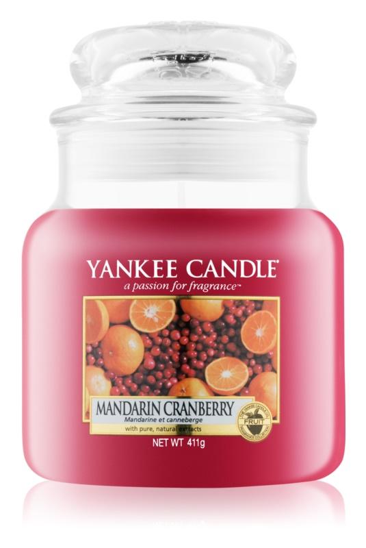 Yankee Candle Mandarin Cranberry vonná svíčka 411 g Classic střední