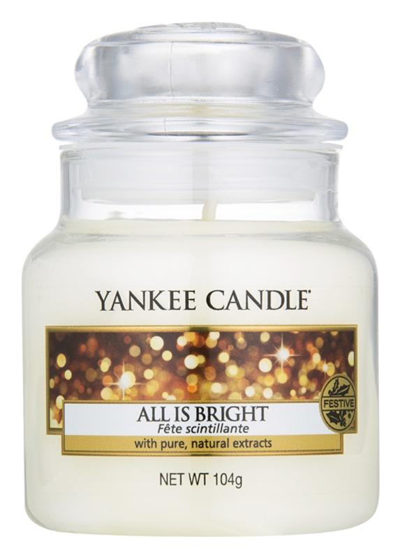 Yankee Candle All is Bright lumanari parfumate  105 g Clasic mini