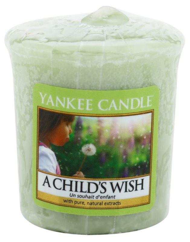 Yankee Candle A Child's Wish вотивна свічка 49 гр