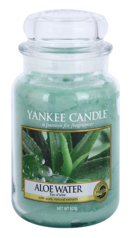 Yankee Candle Aloe Water vonná sviečka 623 g Classic veľká