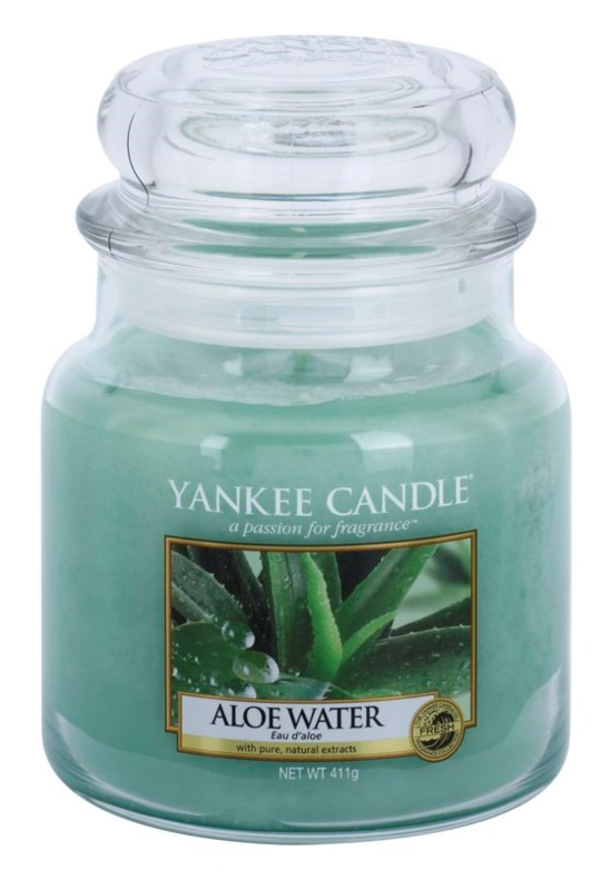Yankee Candle Aloe Water Duftkerze  411 g Classic medium