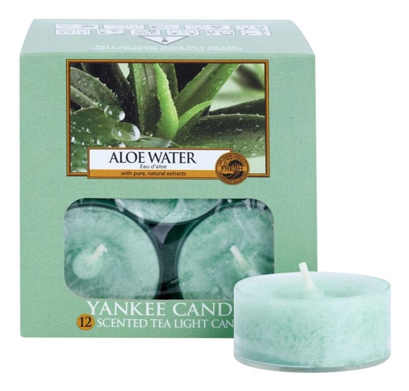 Yankee Candle Aloe Water Teelicht 12 x 9,8 g