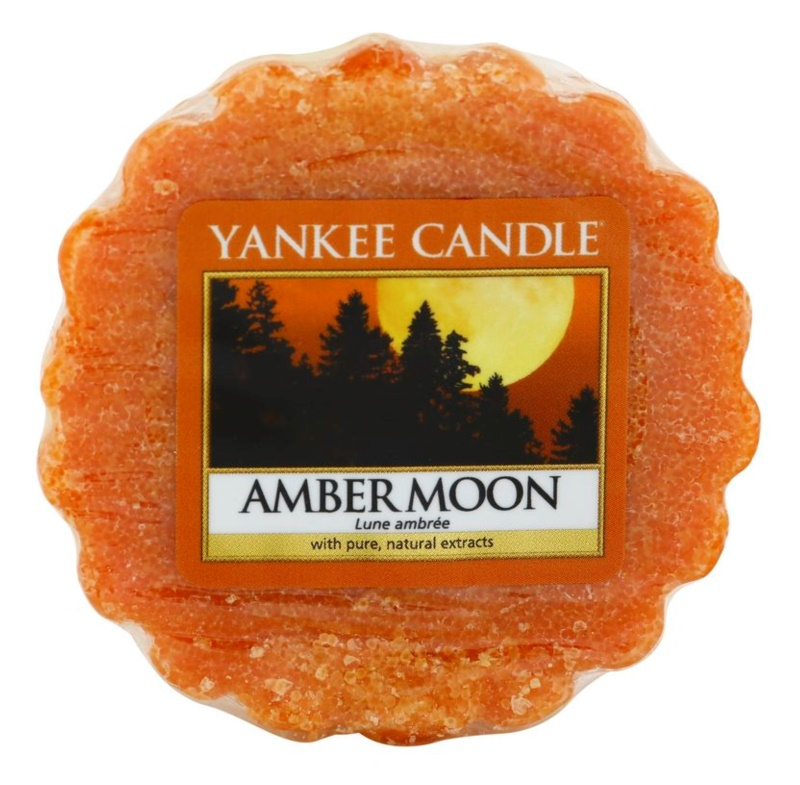 Yankee Candle Amber Moon Wachs für Aromalampen 22 g
