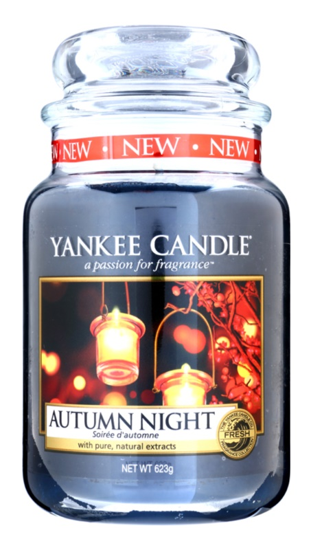 Yankee Candle Autumn Night bougie parfumée 623 g Classic grande