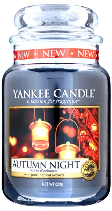 Yankee Candle Autumn Night candela profumata 623 g Classic grande