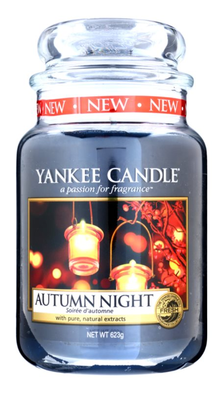 Yankee Candle Autumn Night Geurkaars 623 gr Classic Large