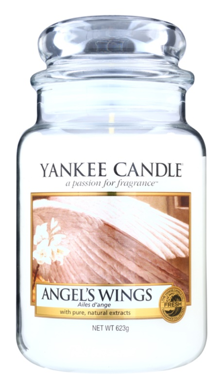 Yankee Candle Angel´s Wings lumânare parfumată  623 g Clasic mare
