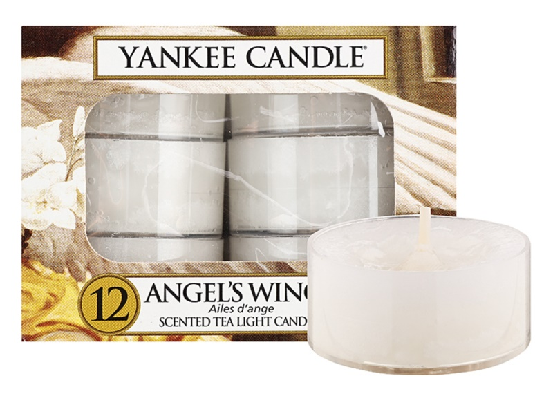 Yankee Candle Angel´s Wings candela scaldavivande 12 x 9,8 g