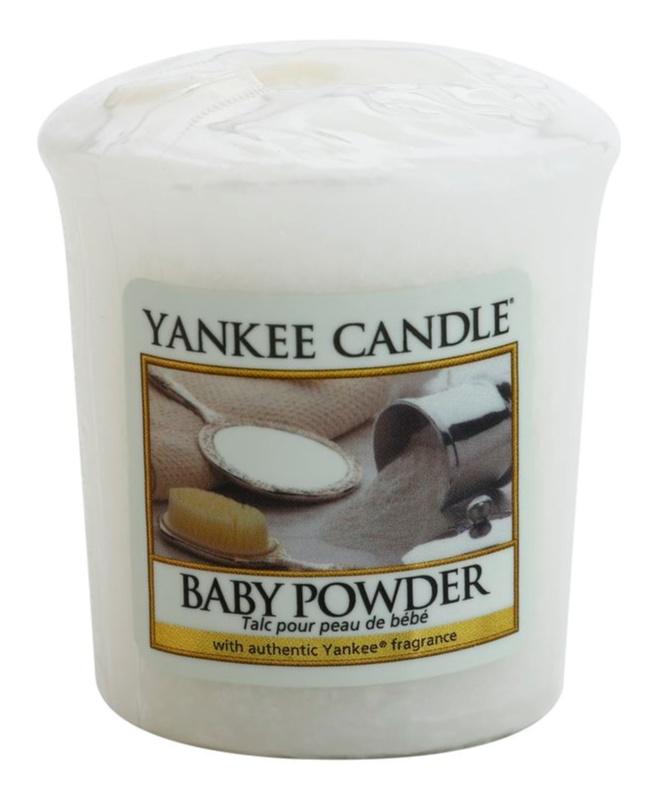 Yankee Candle Baby Powder votívna sviečka 49 g