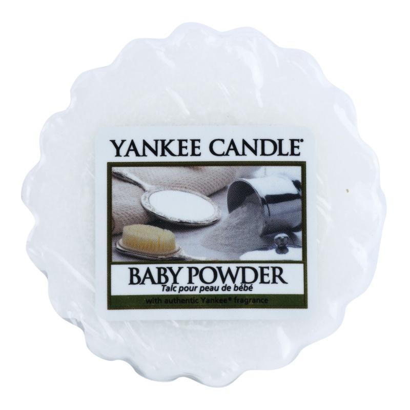 Yankee Candle Baby Powder cera para lámparas aromáticas 22 g