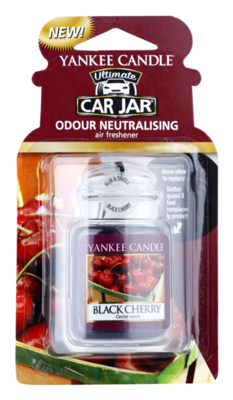Yankee Candle Black Cherry aромат для авто   підвісний