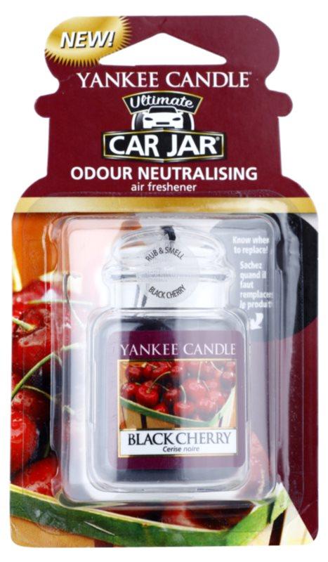 Yankee Candle Black Cherry Désodorisant voiture   à suspendre