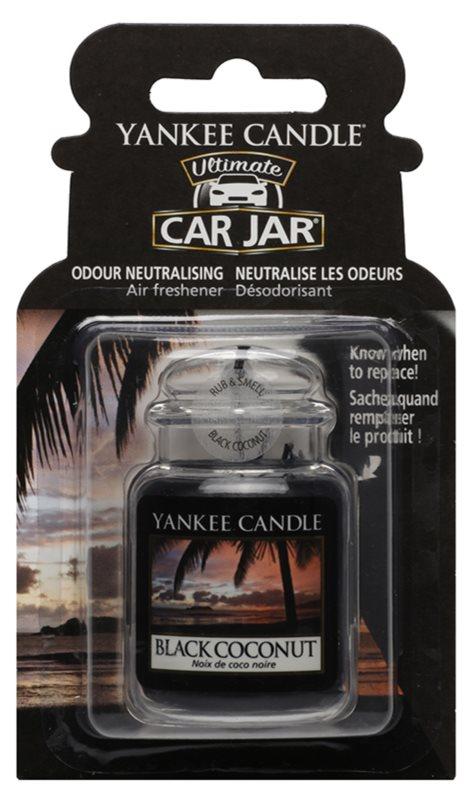 Yankee Candle Black Coconut odświeżacz do samochodu   wiszące