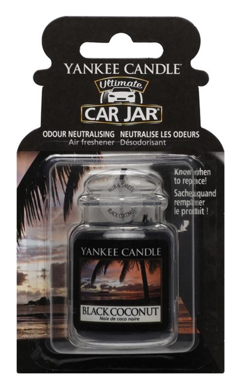 Yankee Candle Black Coconut vôňa do auta   závesná