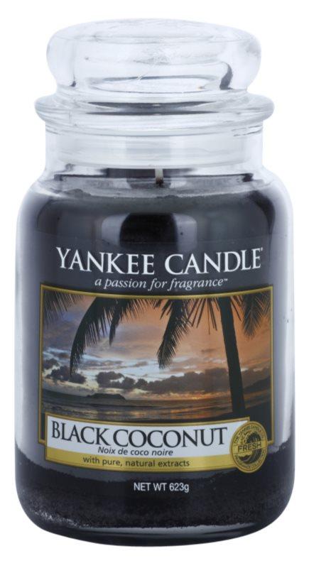 Yankee Candle Black Coconut Duftkerze  623 g Classic groß