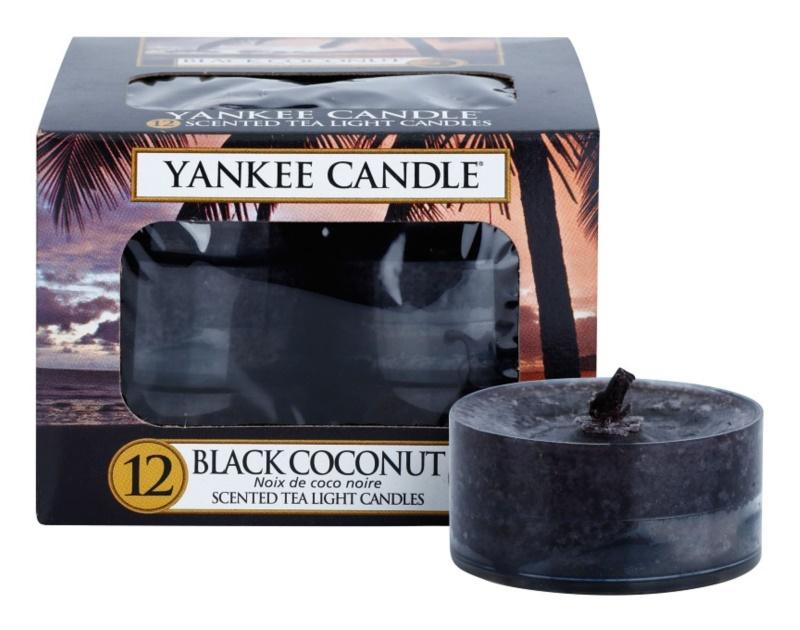 Yankee Candle Black Coconut teamécses 12 x 9,8 g