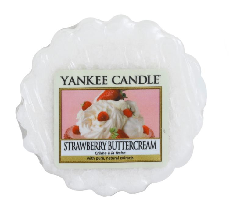 Yankee Candle Strawberry Buttercream tartelette en cire 22 g