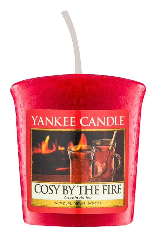 Yankee Candle Cosy By the Fire vela votiva 49 g