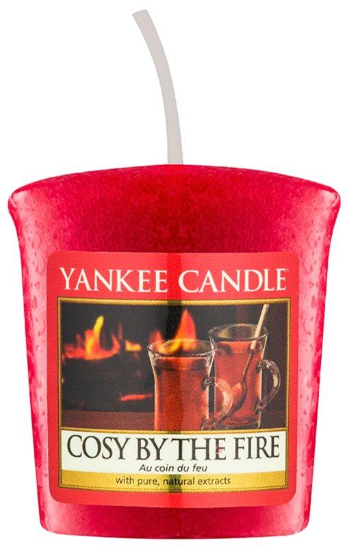 Yankee Candle Cosy By the Fire votívna sviečka 49 g