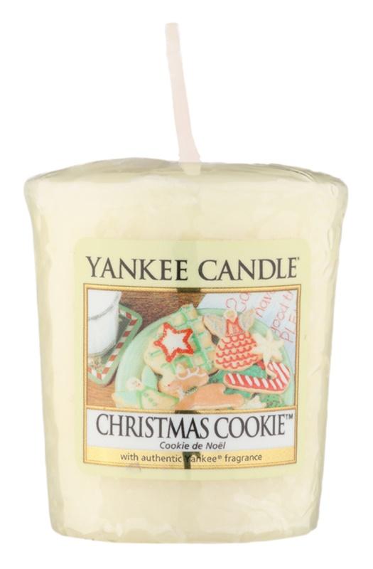 Yankee Candle Christmas Cookie votivní svíčka 49 g