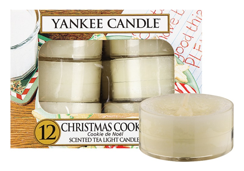 Yankee Candle Christmas Cookie Tealight Candle 12 x 9,8 g