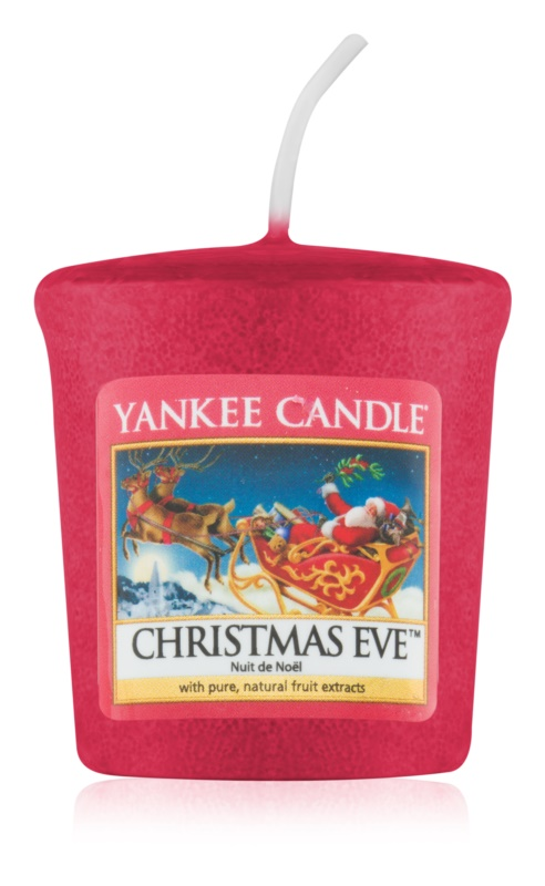 Yankee Candle Christmas Eve bougie votive 49 g