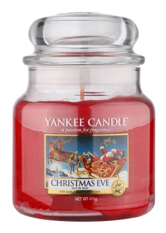 Yankee Candle Christmas Eve Duftkerze  411 g Classic medium