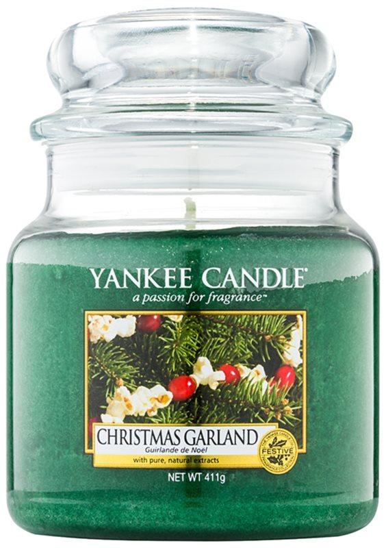 Yankee Candle Christmas Garland ароматна свещ  411 гр. Classic средна