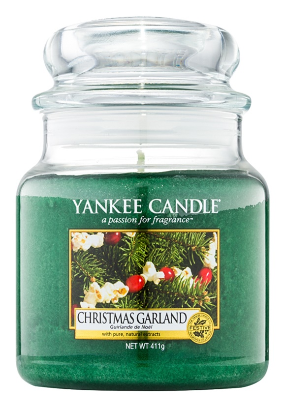 Yankee Candle Christmas Garland Duftkerze  411 g Classic medium