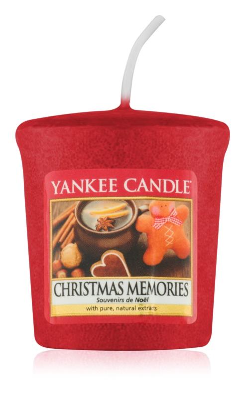 Yankee Candle Christmas Memories votivna sveča 49 g